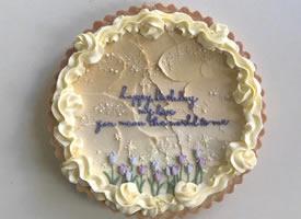 充滿藝術感的蛋糕裱花設計