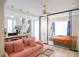 35㎡時尚簡約一居室裝修效果圖