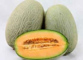 一組味道甜美的哈密瓜圖片