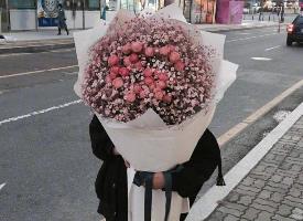 想收到这么大的花