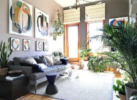綠色簡約家居設計