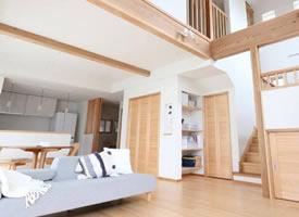 纯原木风格Loft,打造属于自己的林中小屋
