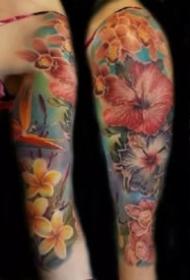 彩色花臂 18款炫彩色的写实等风格
