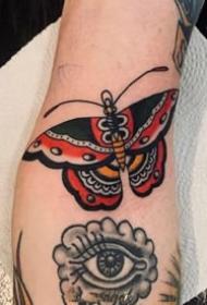 一組美美的彩繪歐美手臂紋身圖案