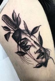一組暗黑霸氣的歐美男生紋身圖案欣賞