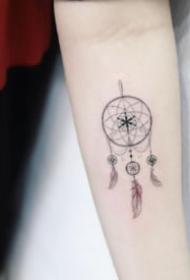 女生紋身 適合小仙女們的9款小清新紋身圖片
