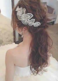 一組超漂亮的新娘發型圖片
