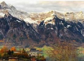 美如油画的瑞士风景图片欣赏