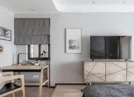 109平现代新中式两室三口之家