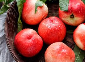 一組香氣迷人的水蜜桃高清圖片欣賞