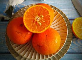 一組皮薄肉甜的柑橘圖片欣賞