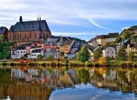 西歐風情的小鎮圖片欣賞