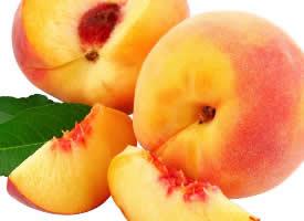 富含多种维生素,美肤清胃的水蜜桃图片