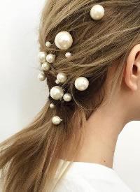 仙得不要不要的珍珠發飾