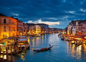 水上城市威尼斯风光