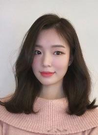 一組韓系女生卷發圖片欣賞