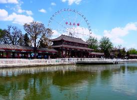 天津水上公園清新美景圖片