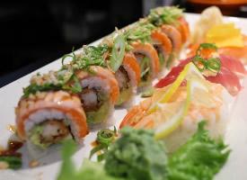 各式各樣美味又好看的壽司圖片