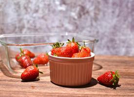 一組小清新草莓唯美圖片欣賞