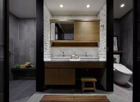 卫浴间四式分离,喜欢这种大而美的卫浴间