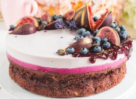 精美好看的法式蛋糕图片