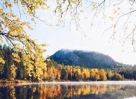 一組芬蘭的秋日美景圖片