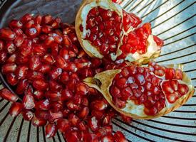 一組美美的紅石榴籽圖片大全