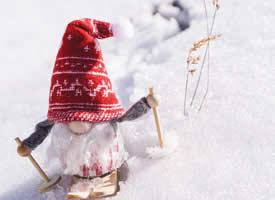 冬天雪人圖片素材高清電腦桌面壁紙