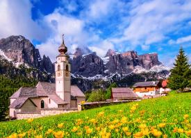 意大利南蒂羅爾優美風景圖片