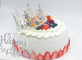 一组女士生日蛋糕图片