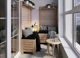 陽臺上的悠閑時光,家居環境舒適度的提升