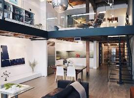 夢想中的loft裝修效果圖