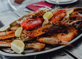 美味的海鲜大餐图片