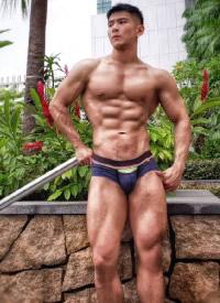 性感帥氣的肌肉帥哥圖片