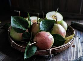 一组甜酥的香梨图片欣赏