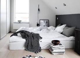 各种北欧风卧室图片参考