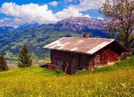 瑞士优美风景图片