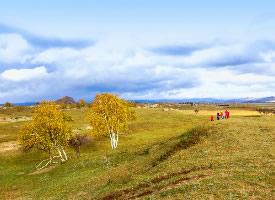 乌兰布统草原风景图片