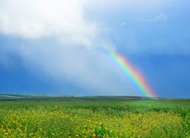 絢麗唯美的彩虹風景圖片桌面壁紙