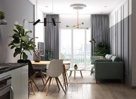 理想的小公寓裝修效果圖