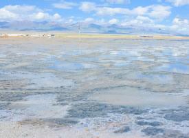 茶卡鹽湖風景圖片
