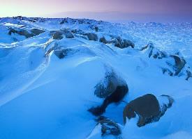 极地冰雪风景图片