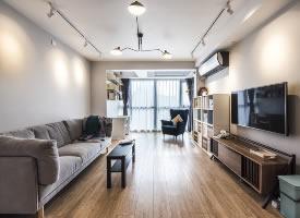 86平北欧风格二居室 ,浅浅的灰