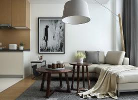 85㎡简洁loft公寓,回归日常最单纯的本质