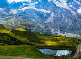 瑞士少女峰图片