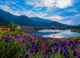 四川西嶺雪山風景圖片