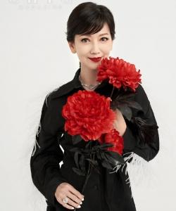 赵雅芝素雅长裙中国风性感写真
