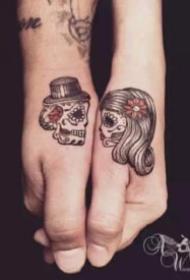 情侶紋身 20款520創意情侶成對紋身