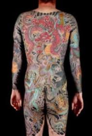 英國紋身師Stewart Robson的大型傳