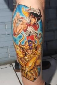 Guto Carvalho的9款圣斗士星矢紋身作品圖案